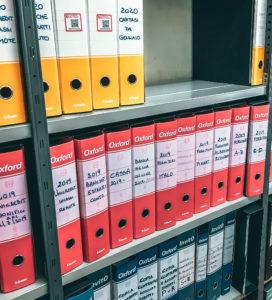Riorganizzazione documenti aziendali