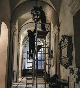 Pulizia e manutenzione lampadari
